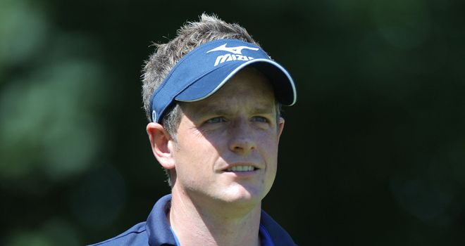 Luke Donald: Heads off in the afternoon wave, 13:30 local, 18:30 UK