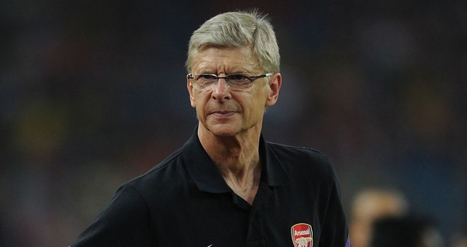 Arsene Wenger: Arsenal manager is currently with his squad in Germany