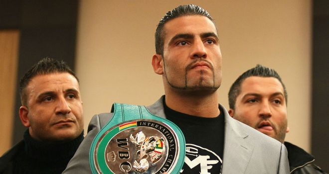 Manuel Charr: Confident of causing an upset against Vitali Klitschko
