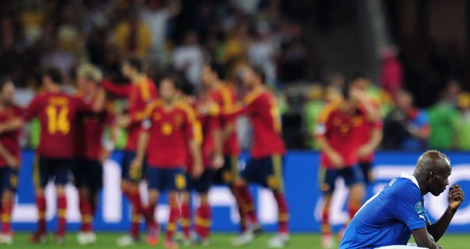 Mario Balotelli: Left to rue what might have been after defeat to Spain
