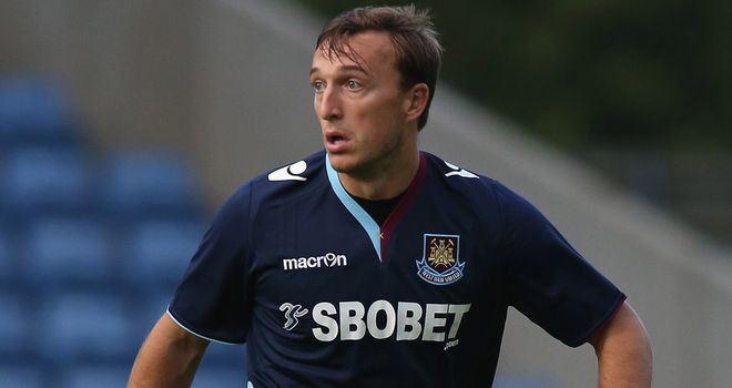 Mark Noble: Poised to sign a new deal to keep him at West Ham