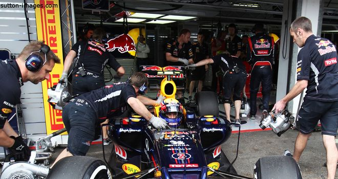Mark Webber: Red Bull driver required a change of gearbox ahead of qualifying at German Grand Prix