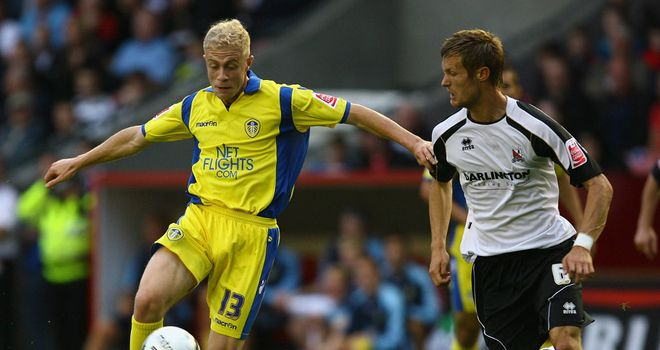 Grella (left): Impressed manager Knill