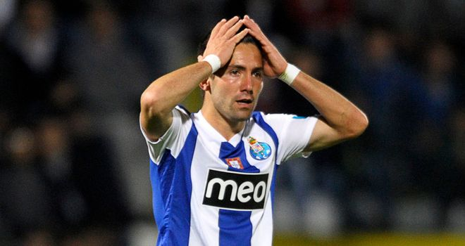 Joao Moutinho: Working hard at Porto
