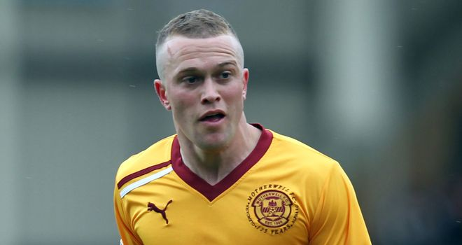 Nicky Law: Two goals for Motherwell midfielder