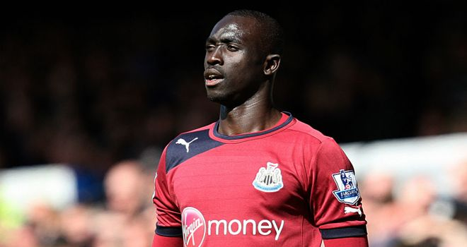 Papiss Cisse: The striker has been ruled out of Maritimo clash on Thursday due to illness