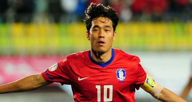 Park Chu-young: Included in South Korea's World Cup squad
