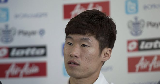 Park Ji-sung: Has linked up with Queens Park Rangers on a two-year contract