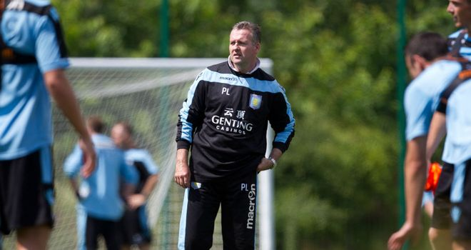 Paul Lambert: The new Aston Villa boss plans to put his players through their paces in a tough pre-season