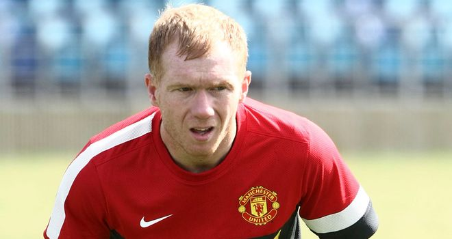 Paul Scholes: Aiming to add more games to his United tally of 699