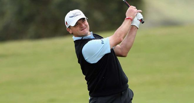 Paul Lawrie: frustrating day on the greens