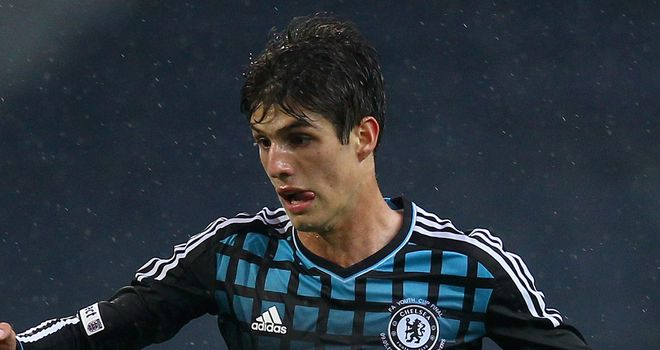 Lucas Piazon: Chelsea striker has joined Malaga on loan