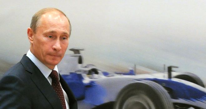 Russian President Vladimir Putin: Given major backing to Sochi track