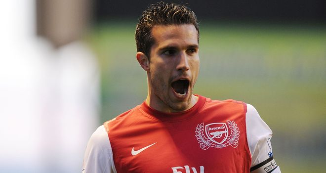 Robin van Persie: Continues to be heavily linked with a move to Manchester