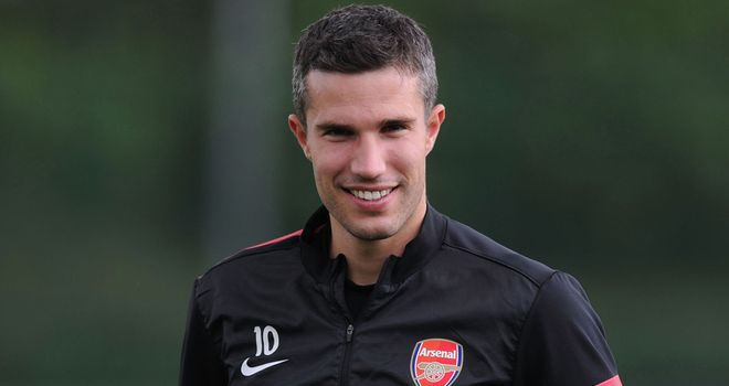 Robin van Persie: Has been linked with a big-money move to City