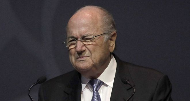 Sepp Blatter: Praised Kevin-Prince Boateng for his courage