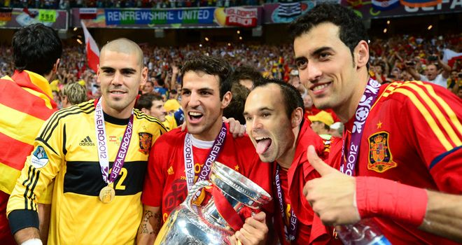 Spain: Successfully defended their Euro crown in Poland and Ukraine