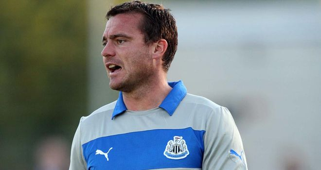 Steve Harper: Hoping to reach the 200-appearance mark for Newcastle