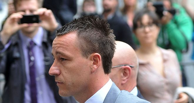 Terry: Chelsea and England defender