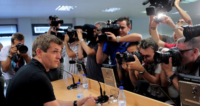 Vilanova: has impressed the Spanish media with start at Barca