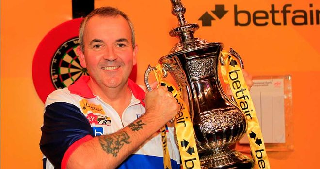 Phil Taylor: sealed victory on double 10 to cap a match-winning 13-dart leg
