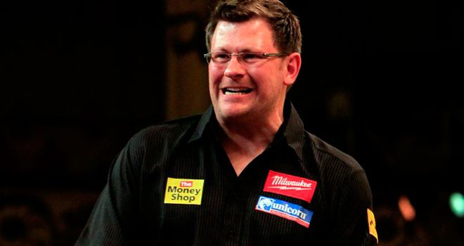 James Wade: Potential banana skin for world number four