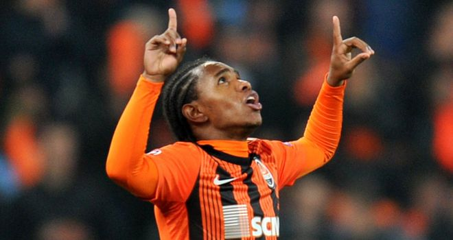 Willian: Shakhtar Donetsk man has been linked with a switch to Tottenham