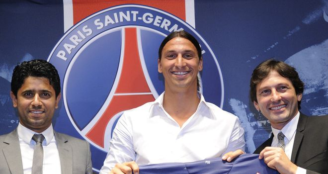 Nasser Al-Khelaifi says Zlatan Ibrahimovic and Thiago Silva will not leave this summer