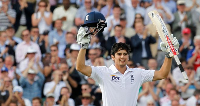 Alastair Cook: Up for LG ICC player of the year award alongside Stuart Broad