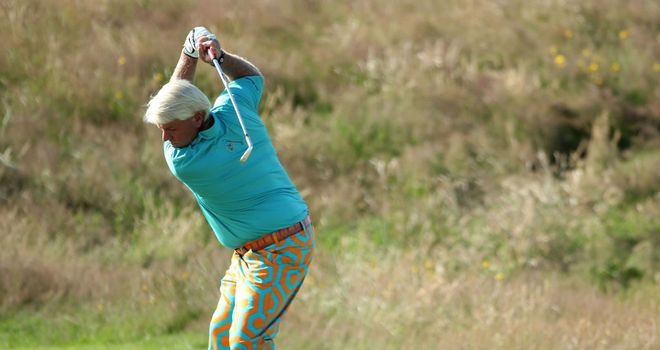 John Daly: In first group out at the 1st at 0735 local, 1235 UK