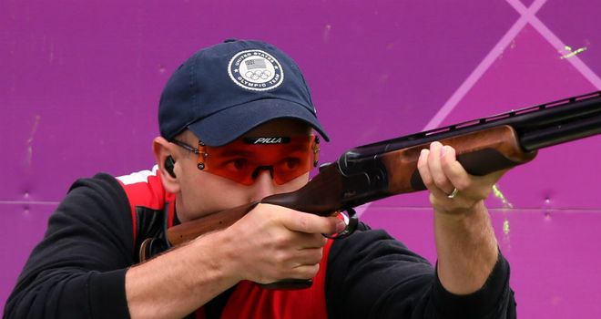 Vincent Hancock: Became the first skeet shooter to win back-to-back titles