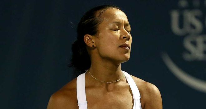 Anne Keothavong: First round exit in Shenzen