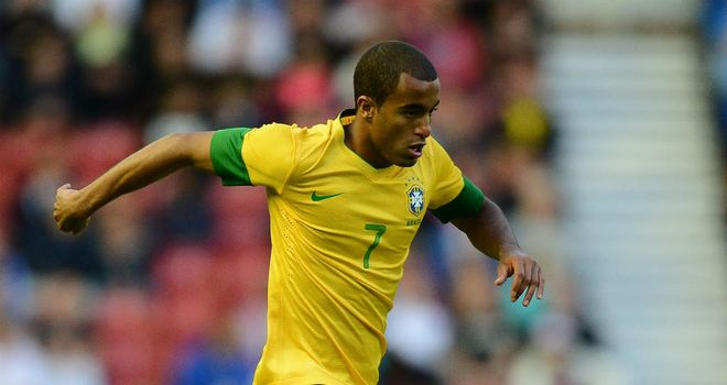 Lucas Moura: Brazil midfielder has been urged to join Manchester United by Rafael
