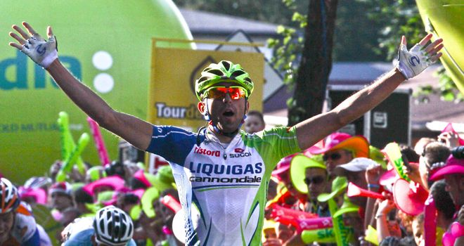 Moreno Moser: Took dramatic win on stage six of Tour de Pologne
