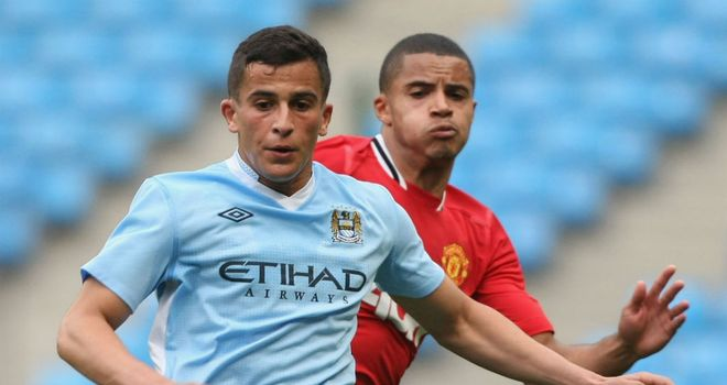 Omar Elabdellaoui: Manchester City midfielder has joined Feyenoord on a season-long loan