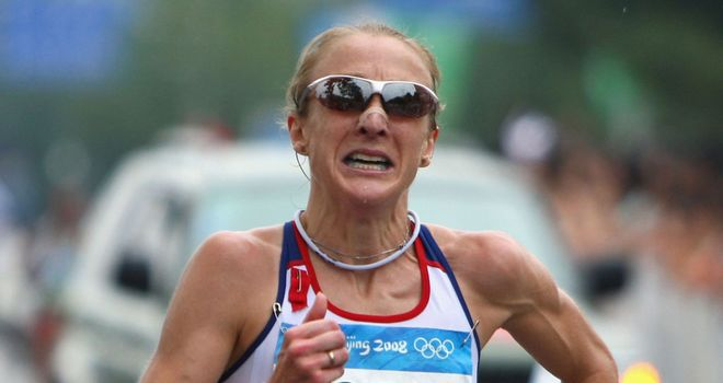 Paula Radcliffe: 'Desperate' to return next year