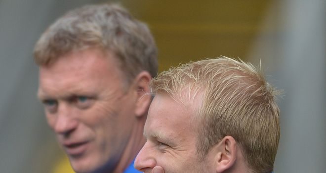 David Moyes: Everton boss is waiting on new signing Steven Naismith