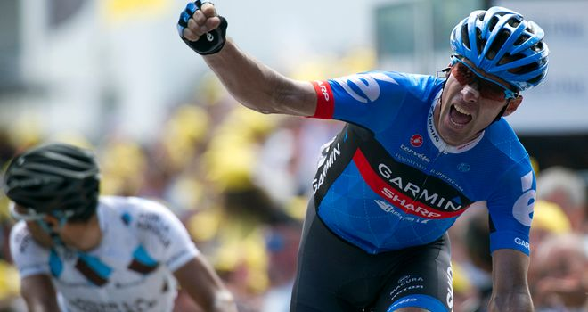 David Millar took the latest of his four individual Tour de France stage wins last year