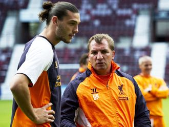 Brendan Rodgers: Has held talks with Andy Carroll