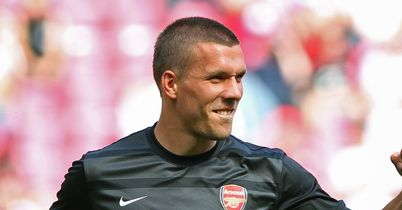 Podolski: Will be a big flop in Prem, says Briggs