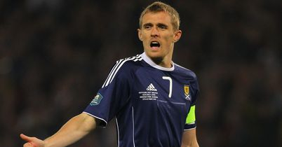 Darren Fletcher: Will lead Scotland against Luxembourg