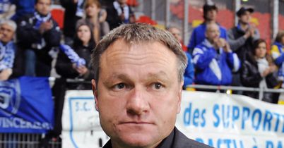 Frederic Hantz: His Bastia side will face Auxerre on Wednesday