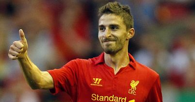 Borini: Set to make Liverpool PL debut