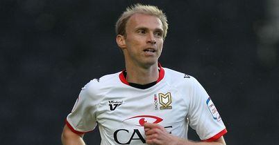 Luke Chadwick: Hit two goals for MK Dons as they defeated Scunthorpe