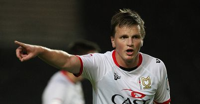 Stephen Gleeson: Ruled out for MK Dons
