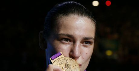 Katie Taylor: Added Olympic gold to the four world titles she already has