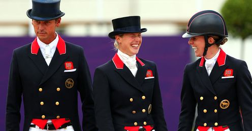 Britain's Olympic equestrian success rewarded with OBE for Charlotte Dujardin