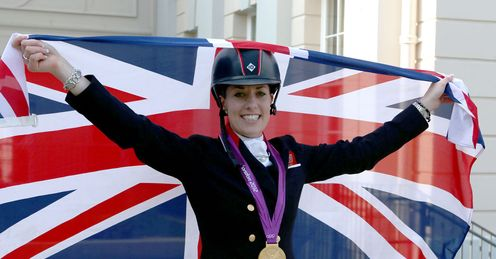 Charlotte Dujardin wrapped up a fine year by winning the World Cup freestyle