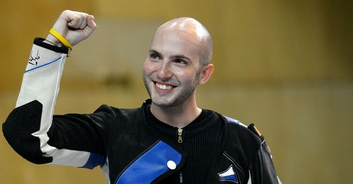 Rifle gold for Campriani