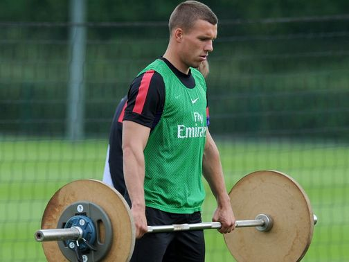 Lukas Podolski: New Arsenal recruit